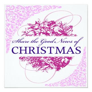 クリスマスの招待状 カード