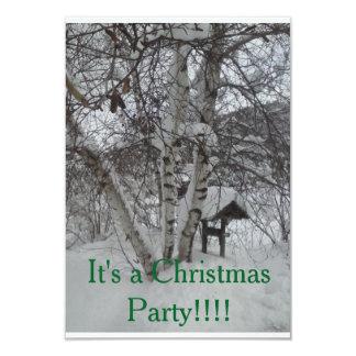 クリスマスの招待 カード