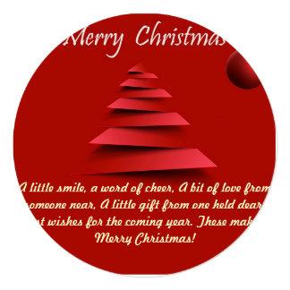 クリスマスの挨拶状 カード