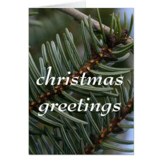 クリスマスの挨拶 カード