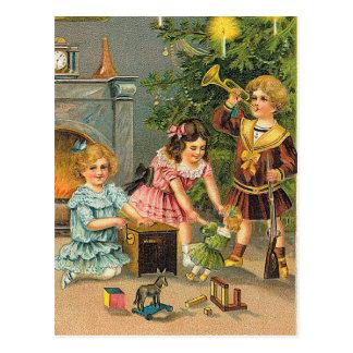 クリスマスの挨拶 ポストカード