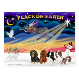 クリスマスの日の出-チャールズ(5)無頓着な王 ポストカード