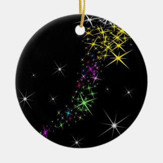 クリスマスの星 セラミックオーナメント