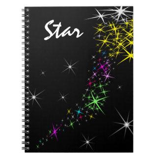 クリスマスの星 ノートブック