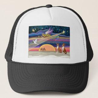 クリスマスの星- Basenjis (2) キャップ