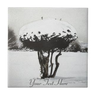 クリスマスの景色の雪場面オリジナルの芸術 タイル