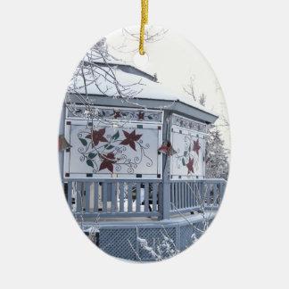 クリスマスの望楼 セラミックオーナメント