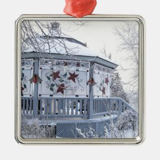 クリスマスの望楼 メタルオーナメント