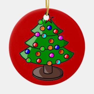 クリスマスの木のオーナメント セラミックオーナメント