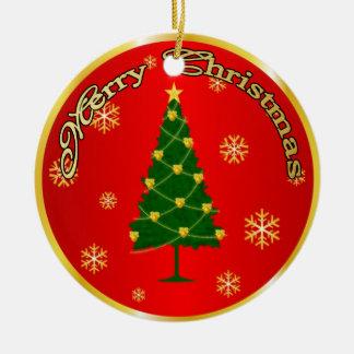 クリスマスの木 セラミックオーナメント