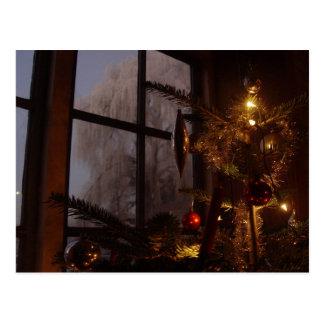 クリスマスの木 ポストカード