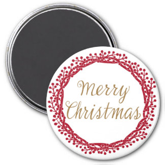 クリスマスの果実のリースの磁石 マグネット