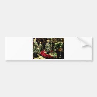 クリスマスの楽園 バンパーステッカー