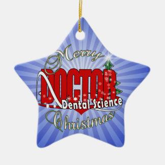 クリスマスの歯科科学 セラミックオーナメント