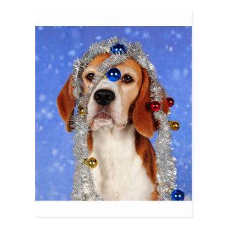 クリスマスの災難 ポストカード