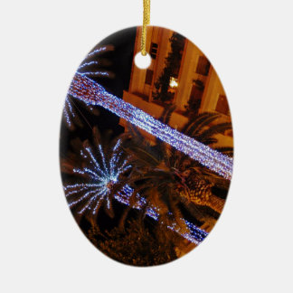クリスマスの照明シシリー セラミックオーナメント