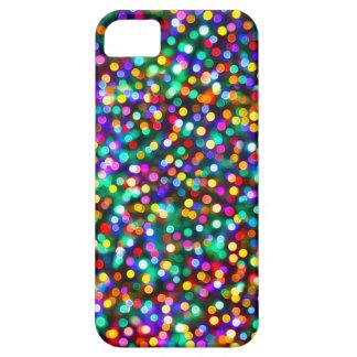 クリスマスの照明パターン iPhone 5 CASE
