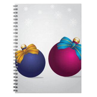 クリスマスの球 ノートブック