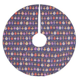 クリスマスの球 ブラッシュドポリエステルツリースカート