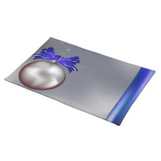 クリスマスの球 ランチョンマット