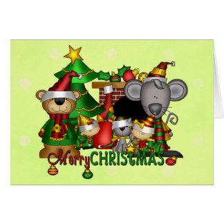 クリスマスの相棒 カード