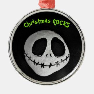 クリスマスの石のオーナメント メタルオーナメント