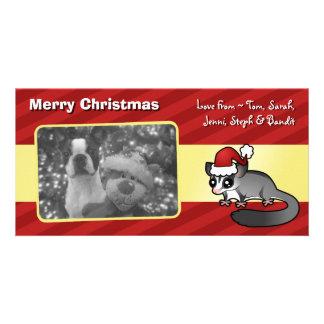クリスマスの砂糖のグライダー カード
