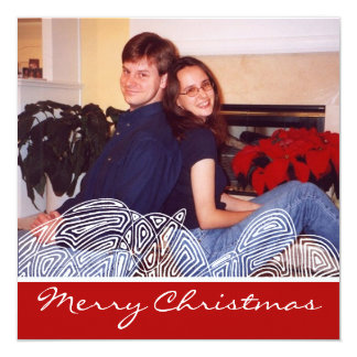 クリスマスの突風 カード