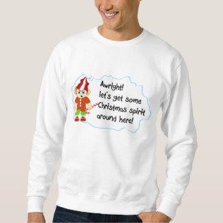 クリスマスの精神 スウェットシャツ