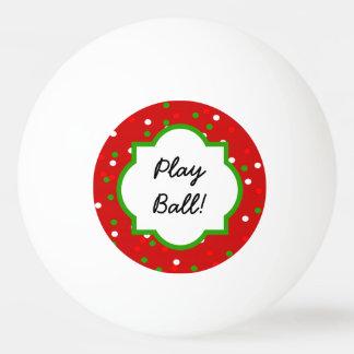 クリスマスの紙吹雪 •  猛烈なシナモンは振りかけます 卓球ボール
