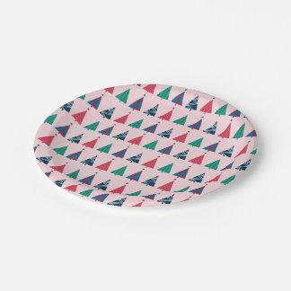 クリスマスの紙皿 ペーパープレート