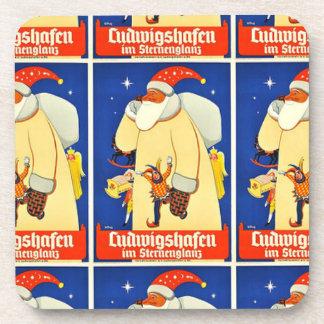 クリスマスの聖者ニックドイツ コースター
