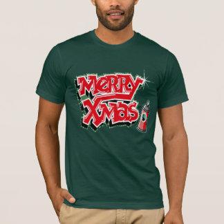 クリスマスの落書きのTシャツ Tシャツ