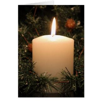 クリスマスの蝋燭4 2014年 カード
