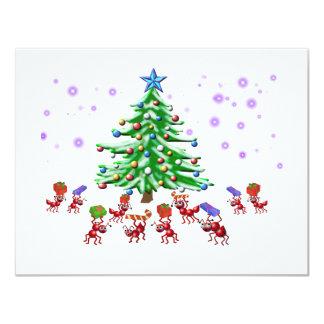 クリスマスの蟻ticipation カード