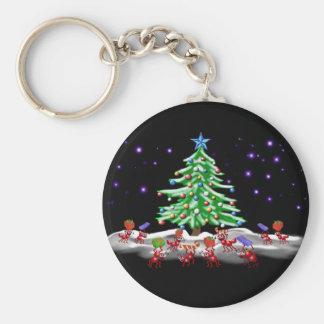 クリスマスの蟻ticipation キーホルダー