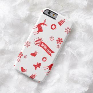 クリスマスの要素 BARELY THERE iPhone 6 ケース