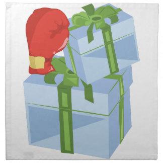 クリスマスの贈物日 ナプキンクロス
