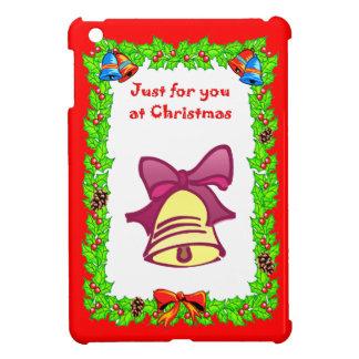 クリスマスの金鐘 iPad MINIケース