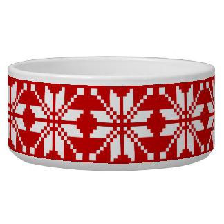 クリスマスの雪片のクリスマスパターン