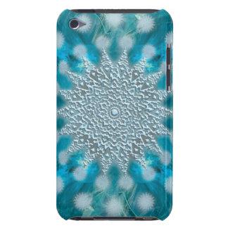 クリスマスの雪片のフラクタル Case-Mate iPod TOUCH ケース
