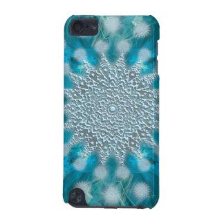 クリスマスの雪片のフラクタル iPod TOUCH 5G ケース
