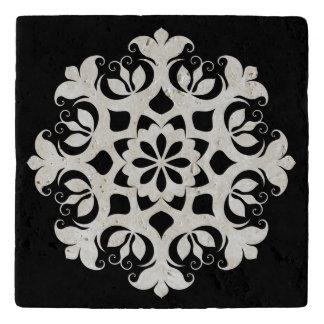 クリスマスの雪片の石Trivet トリベット