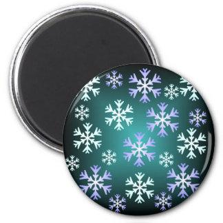 クリスマスの雪片の磁石 マグネット
