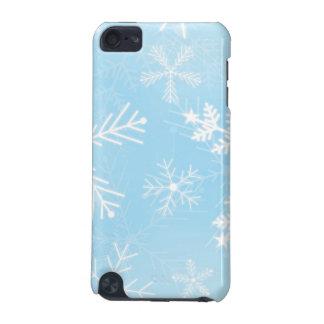 クリスマスの雪片パターン iPod TOUCH 5G ケース
