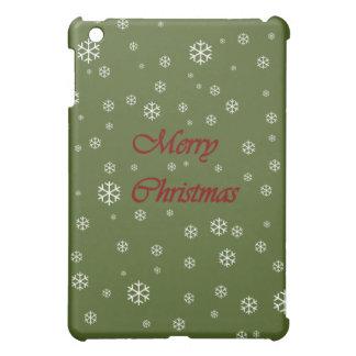 クリスマスの雪片 iPad MINI CASE