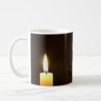 クリスマスの静物画 コーヒーマグカップ