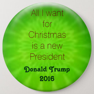 クリスマスの願いの切札2016年 15.2CM 丸型バッジ