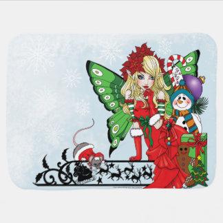 クリスマスの願い ベビー ブランケット