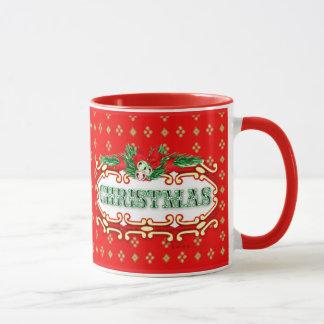 クリスマスの飲料のコンボのマグ マグカップ